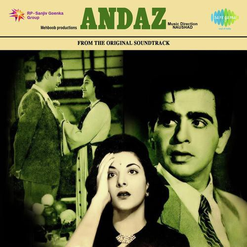 Koi Puche Mere Dil Full Mp3 Song Download: Andaz Songs By Mukesh,Lata Mangeshkar All Hindi Mp3 Album